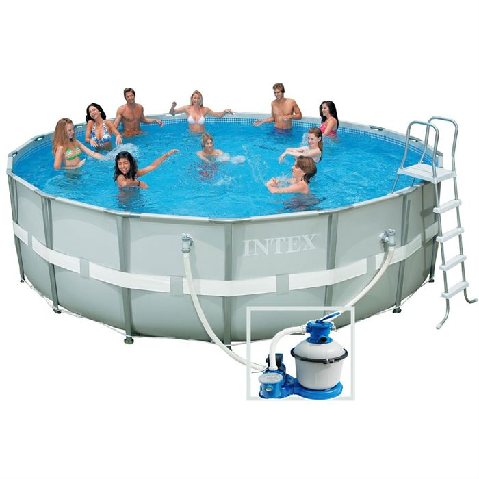 Piscine hors sol en kit ecolo kit maison for Piscine intex tubulaire en solde