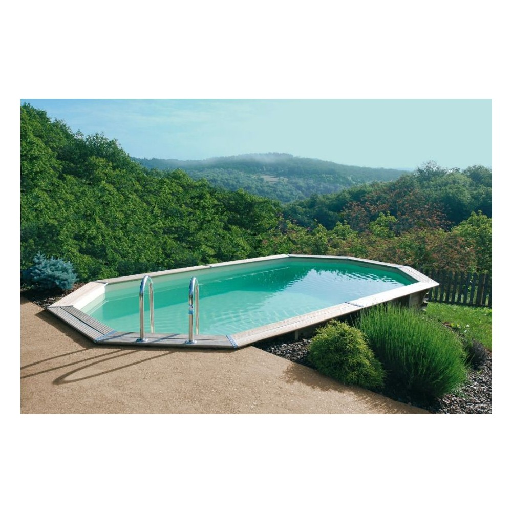 Piscine hors sol en kit ecolo kit maison for Piscine enterree en kit