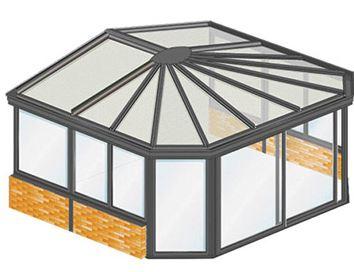 veranda en kit ALU - veranda Leroy Merlin